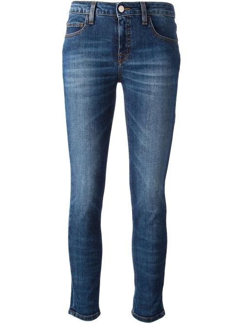 Cropped Denim Slim Jeans by Victoria Beckham Denim in The Other Woman