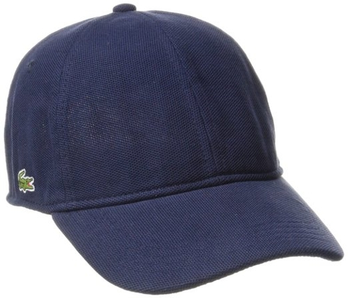 Men's Pique Cotton Cap by Lacoste in Entourage