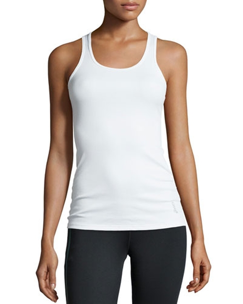 Crisscross Ribbed Tank Top by Asics in Rock The Kasbah