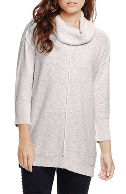 Exposed Seam Cowl Neck Pullover by Two By Vince Camuto in Keeping Up With The Kardashians