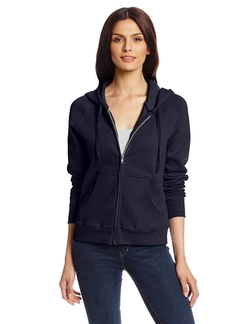 Women's Full Zip EcoSmart Fleece Hoodie by Hanes in Nashville