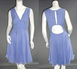 Custom Made Periwinkle Silk Dress (Young Amanda) by Ruth E. Carter (Costume Designer) in The Best of Me