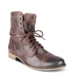 Troopah Combat Boots by Steve Madden in Maze Runner: The Scorch Trials