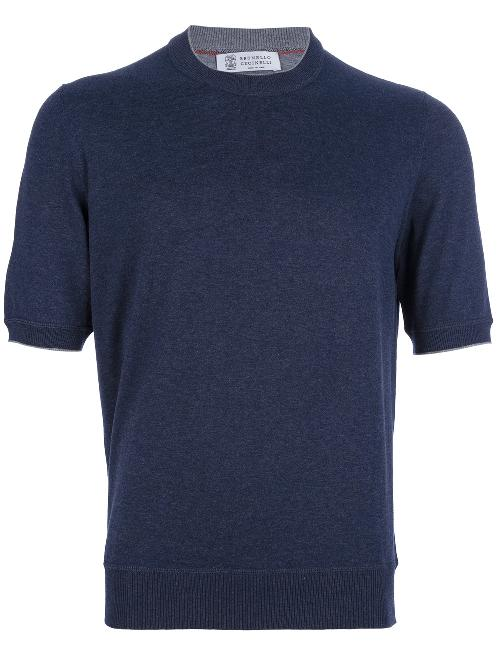Short Sleeved Sweater by Brunello Cucinelli in The Great Gatsby
