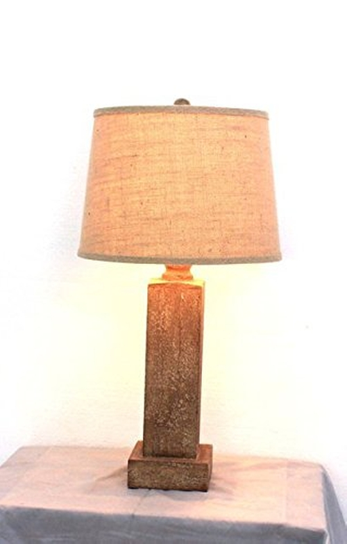 Wooden Table Lamp by Teton Home in Paper Towns