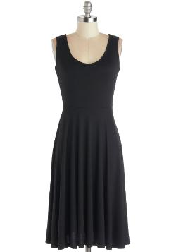 For Any Endeavor Dress in Black by ModCloth in New Year's Eve