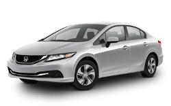 Civic Sedan by Honda in The November Man