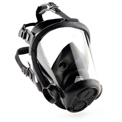 Survivair Opti-Fit Tactical Gas Mask by Howard Leight Industries in Chronicle