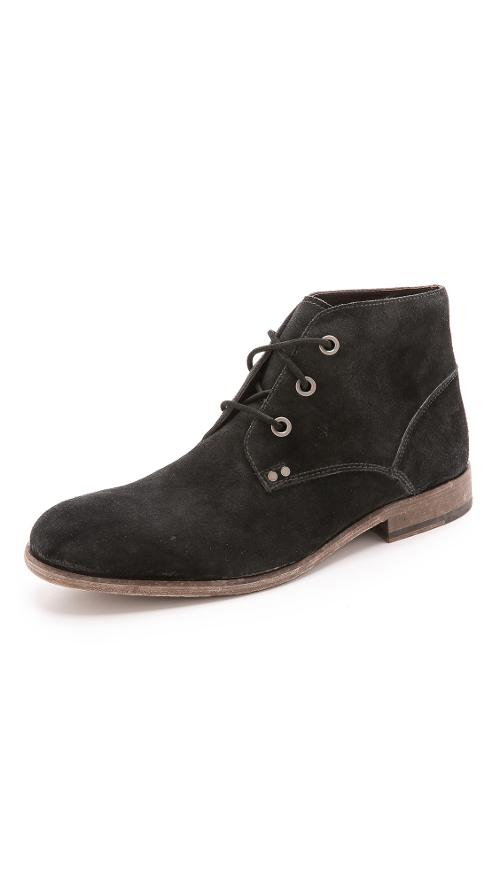 NYC Vintage Chukka Boots by John Varvatos Star USA in The Disappearance of Eleanor Rigby