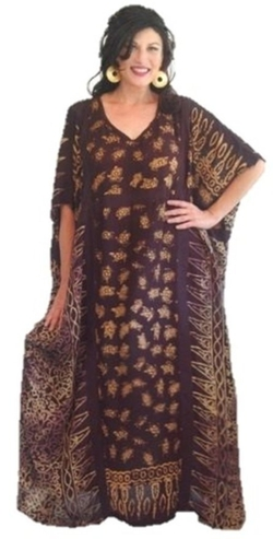 Batik Caftan by Lotustraders in Vinyl