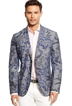 Floral Print Blazer by Argyleculture in Pitch Perfect 2