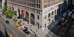 New York City, New York by Textile Building (Depicted as Gimbels Department Store) in Elf