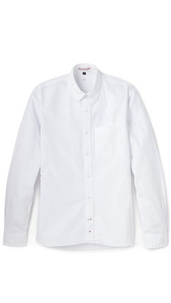 Oxford Button Down Shirt by Apolis in Begin Again