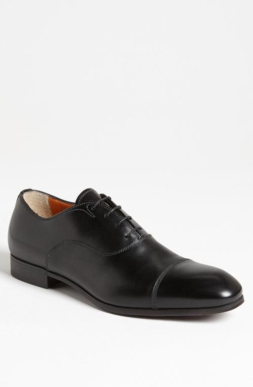 'Salem' Cap Toe Oxford Shoes by Santoni in Suits - Season 5 Episode 4