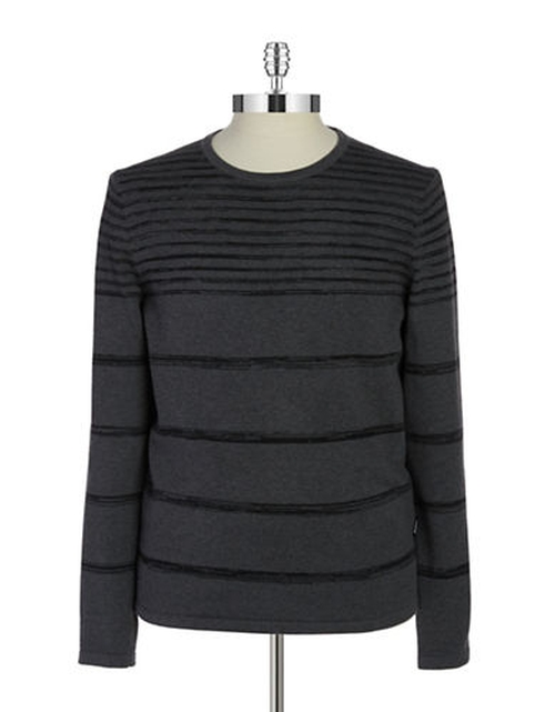 Striped Knit Sweater by Strellson in The Program