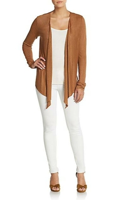 Dorcia Linen Open-Front Cardigan by Calypso St. Barth in Sex and the City