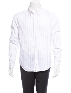 Striped Button-Up Shirt by Band of Outsiders in While We're Young