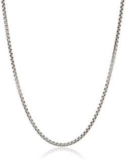 Venetian Chain Necklace by Zina Sterling Silver in Ballers