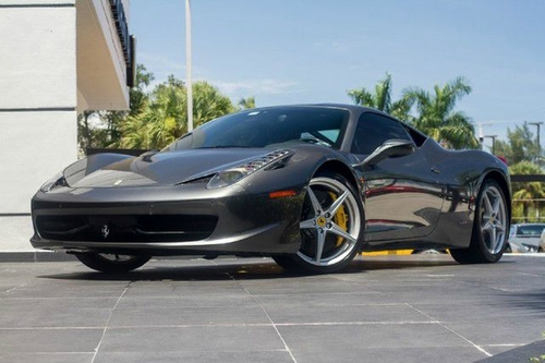 2010 458 Italia Coupe by Ferrari in Ballers - Season 1 Episode 6