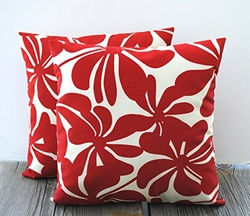 Indoor/Outdoor Floral Pillow by That Dutch Girl in Her