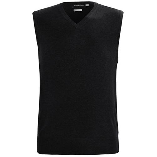 Cotton-Cashmere Sweater Vest by Bullock & Jones in Project Almanac