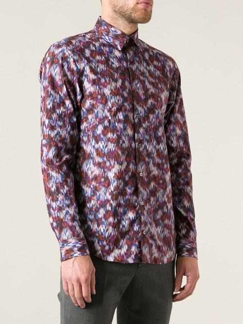 Digital Print Shirt by Jil Sander in X-Men: Days of Future Past