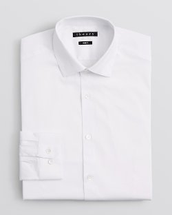 Slim Fit Dress Shirt by Theory Dover in The Counselor