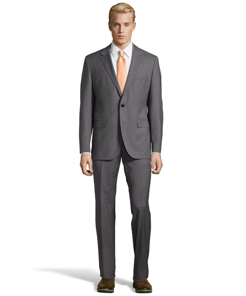 Wool 2-Button Suit by Hugo Boss in Quantico - Season 1 Episode 10