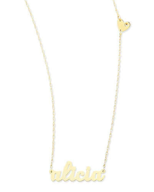 Abigail-Style Personalized Name Necklace by Jennifer Zeuner in The DUFF