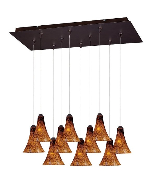 Multi-Light Pendant Lighting by Et2 Lighting in Ex Machina