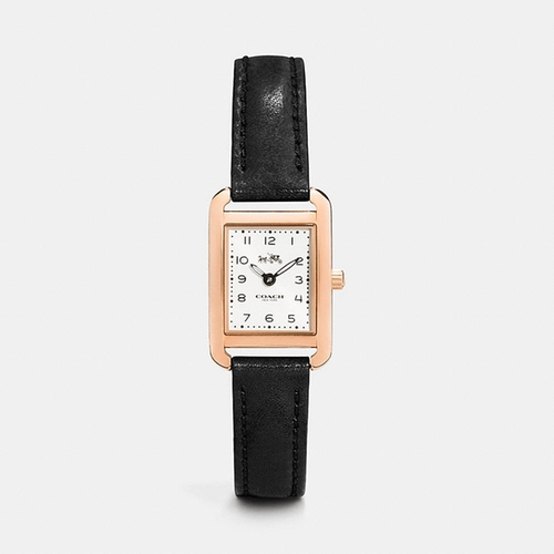 Rose Gold Plated Strap Watch by Coach in The Flash - Season 2 Episode 8