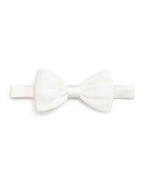Solid Satin Bow Tie by Stefano Ricci in Youth