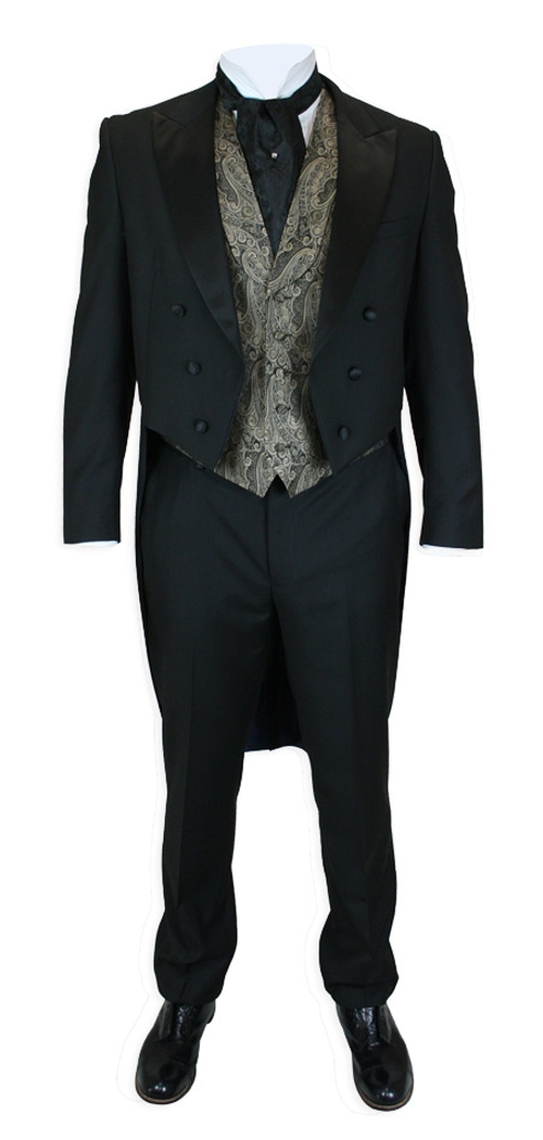 Two Piece Tailcoat Tuxedo Suit by Gentleman's Emporium in Crimson Peak