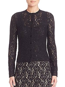 Rose Lace Cardigan by Fuzzi in Sisters