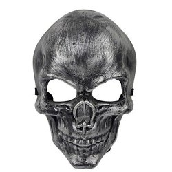 Gruesome Skull Scarry Mask by TY Party Supplies in The Town