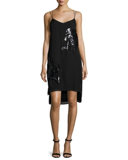 Sequined Slip Dress by Halston Heritage in Fifty Shades Darker