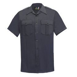 Flying Cross Short Sleeve Poly Cotton Mens Shirt by Fechheimer in Taken 3