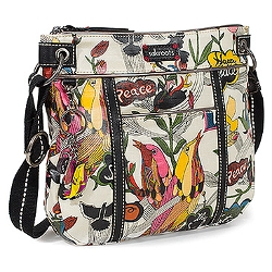 Artist Circle Small Crossbody Bag by Sakroots in Thor