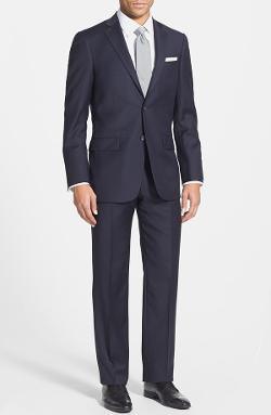 'New York' Classic Fit Wool Suit by Hart Schaffner Marx in Into the Storm