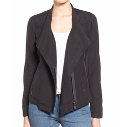 Sundown Moto Jacket by Nic+Zoe in Rosewood
