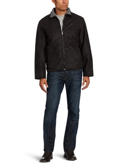 Men's Faux Shearling Jd Jacket by Haggar  in The Walking Dead
