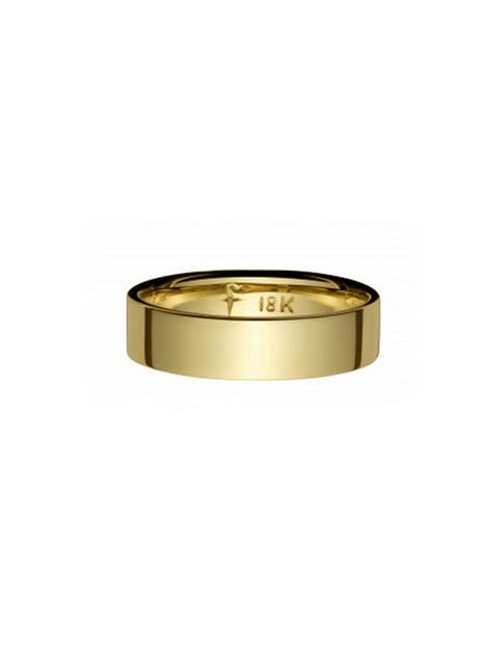 Simple Gold Band Designer Ring by Finn in The Second Best Exotic Marigold Hotel
