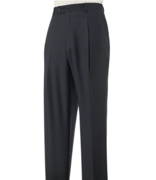 Executive Patterned Wool Plain Front Trousers by Jos.A.Bank in If I Stay