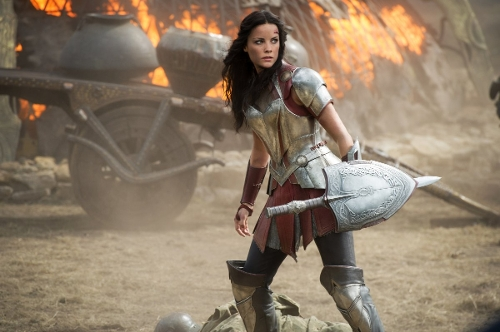 Custom Made Sif Costume by Wendy Partridge (Costume Designer) in Thor: The Dark World