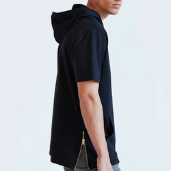 Short-Sleeve Pullover Hooded Sweatshirt by BDG in Pretty Little Liars