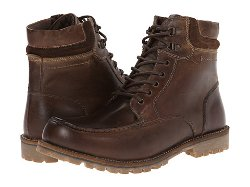 P-Flint Leather Lace-Up Boots by Steve Madden in If I Stay