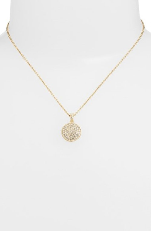 Reversible Pavé Pendant Necklace by Judith Jack in Pitch Perfect 2