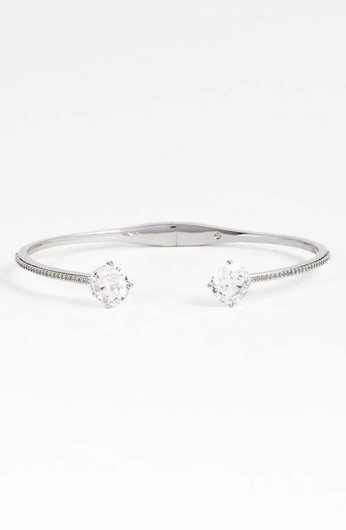 Station Cuff Bracelet by Nadri in Suits