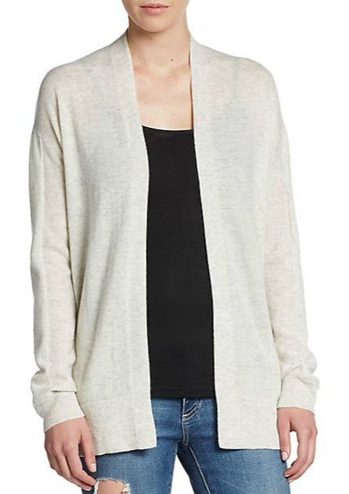 Draped Cashmere Cardigan by Vince in Fantastic Four