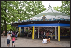 Queens, New York by Forest Park Carousel in Daredevil